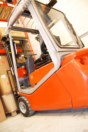 Project management - Fork lift